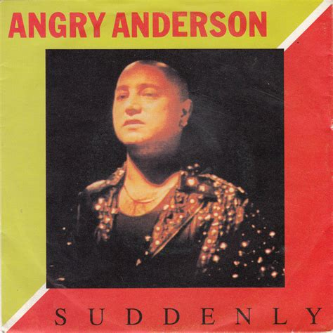 angry anderson suddenly vinyl   rpm single