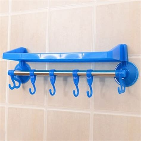 towel holder shelf plastic rack storage bathroom shower shelf makeup towel 2879