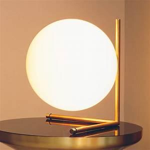 Lampe Boule à Poser : lampe poser en forme de boule ic t2 avec support 3510296 ~ Dailycaller-alerts.com Idées de Décoration