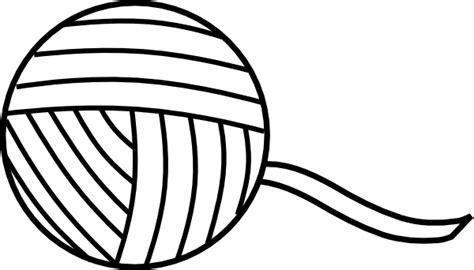 ball  yarn outline clip art  clkercom vector clip art  royalty  public domain