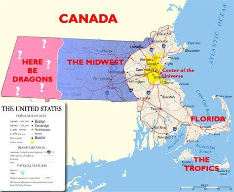 Massachusetts Meme - true story how bostonians view massachusetts