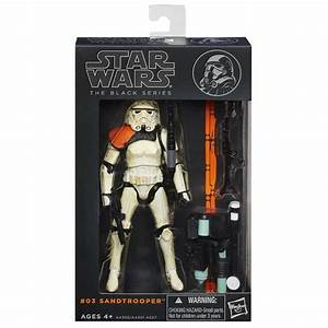 "Star Wars Black Series WAVE 1 #03 SANDTROOPER 6"" Figure ..."