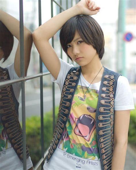 cute short haircuts  asian girls  chic short