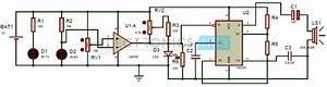 Super Sensitive Intruder Alarm Circuit Using Ir And 555