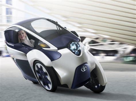 Toyota 3 Wheeled Electric Car