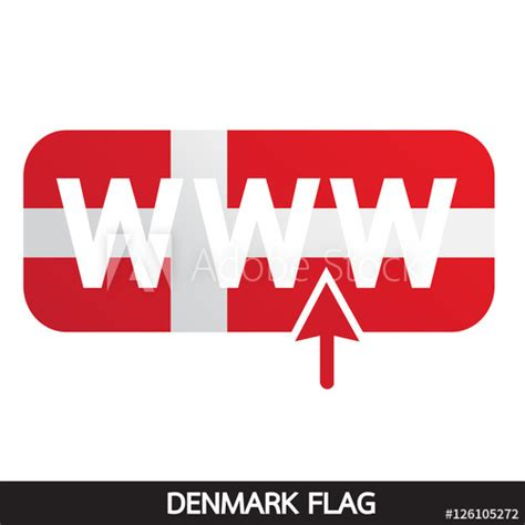 """These flag images would express your patriotism from inner heart to the recipient for sure. """"Denmark flag design illustration"""" Stock image and royalty ..."""