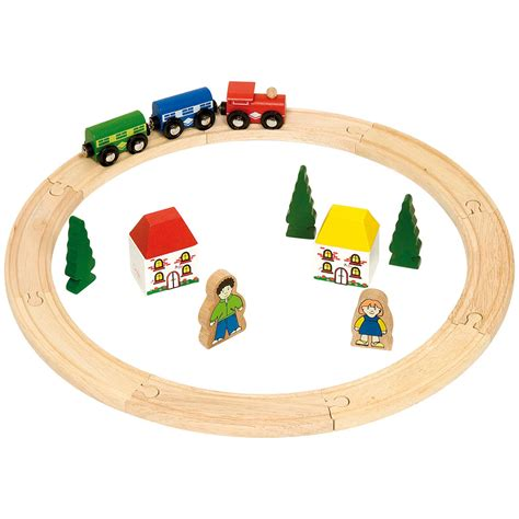 wooden railway outlet