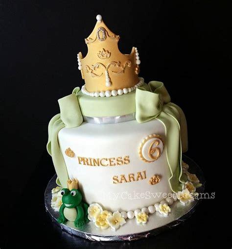 princess   frog birthday cake cakecentralcom