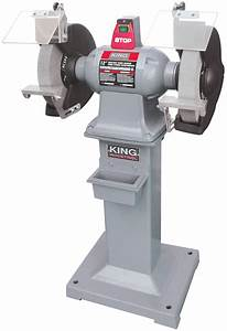 "King Industrial KC-1295 Grinder, 12"", with Stand"