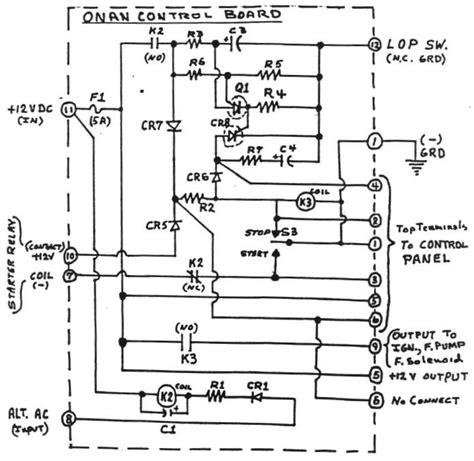 Onan Generator Parts Diagram Automotive