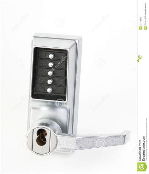 mechanical keypad lock royalty  stock images image