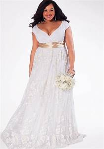 Plus size wedding dresses size 32 pluslookeu collection for Size 32 wedding dress