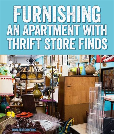 Furnishing An Apartment With Thrift Store Finds  Home