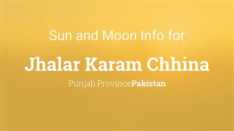 sun moon times today jhalar karam chhina punjab
