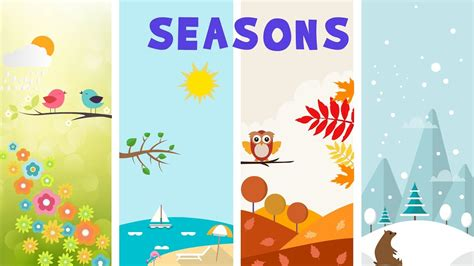 Seasons in Earth - video for kids - YouTube
