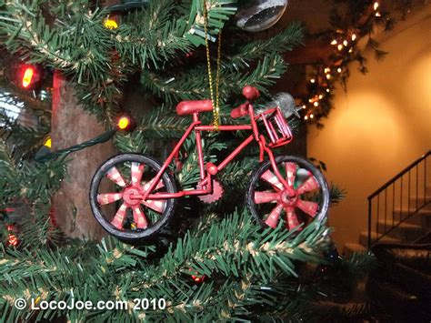 Our Bicycle Christmas Ornaments & Decorations  Locojoe Bikes