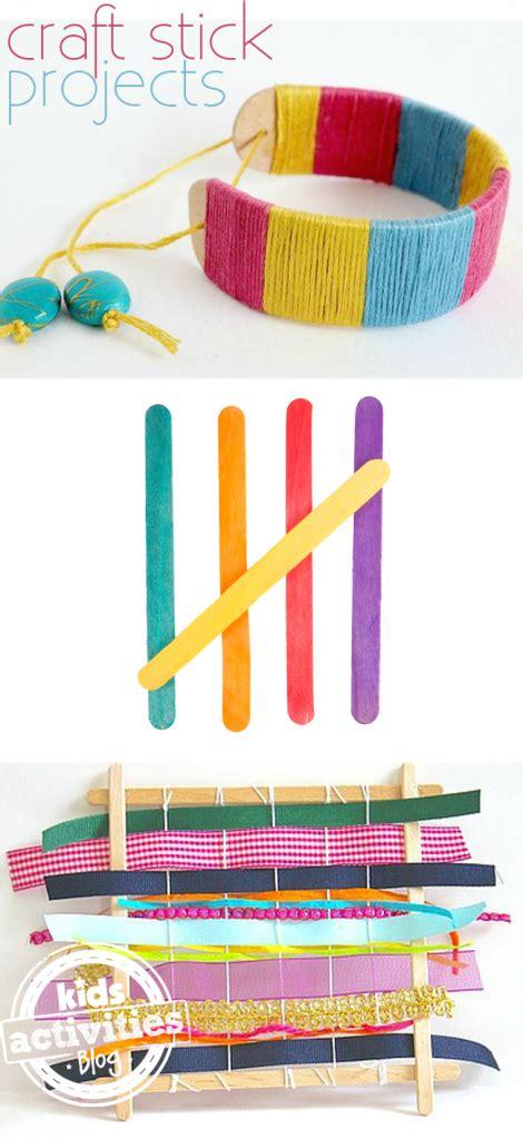fun craft stick projects