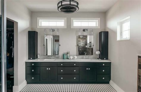 chic farmhouse industrial style bathrooms silent rivers
