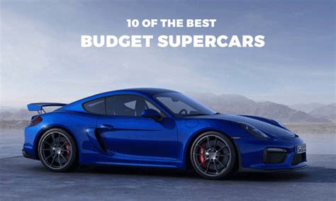 Top 10 New Supercars Under 0k
