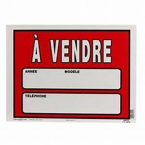 Vendre Ma Voiture Rapidement Gratuitement : pancarte voiture vendre 12 po x 16 po affiches pancartes canac ~ Gottalentnigeria.com Avis de Voitures