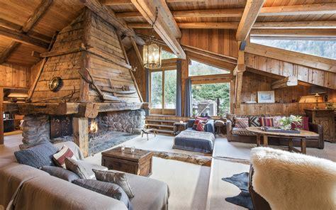 luxury ski chalet chalet la ferme du bois chamonix firefly collection