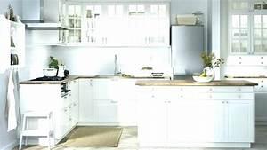 Meuble De Cuisine Blanc Laqué : meuble cuisine ikea blanc id e de mod le de cuisine ~ Teatrodelosmanantiales.com Idées de Décoration