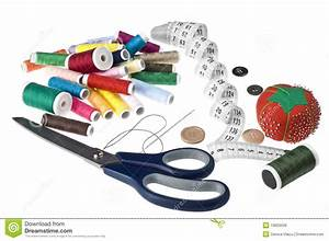 Sewing kit stock photo. Image of accessories, cotton ...