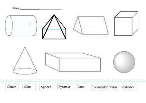 shapes worksheet  alisond teaching resources