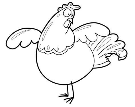chicken template chicken template animal templates free premium templates