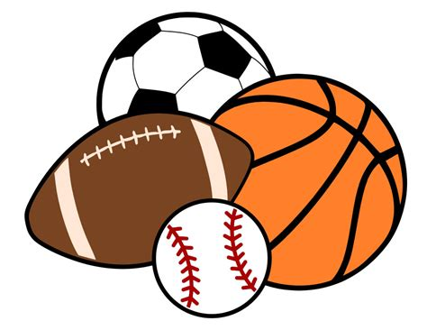 Sport Ball Clipart Collection