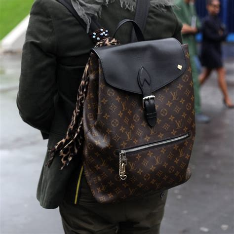 fancy palk backpack  louis vuitton