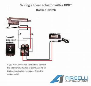 Wiring A Switch For 12v Linear Actuator