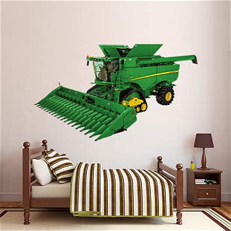 john deere s690 combine wall decal shop fathead 174 for