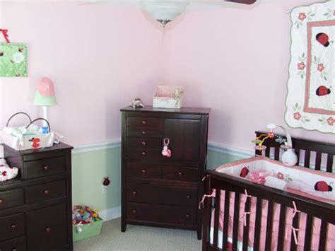 Baby Girl Nursery With Chair Rail  Home Construction