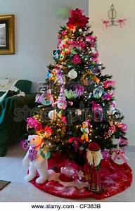 Eco christmas tree with recycled CD used as decoration