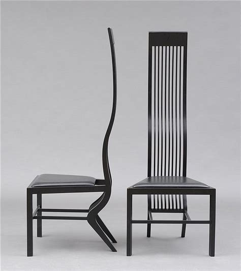 chaise mallet arata isozaki works on sale at auction biography