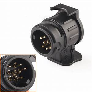 Car Trailer Truck 13 Pin To 7 Pin Plug Adapter Converter