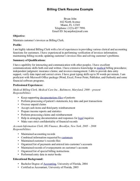 billing resume student resume template student