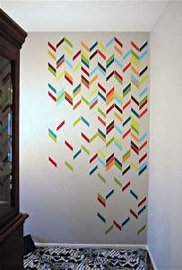 Masking Tape Mur : 1000 ideas about masking tape on pinterest deco diy ~ Nature-et-papiers.com Idées de Décoration