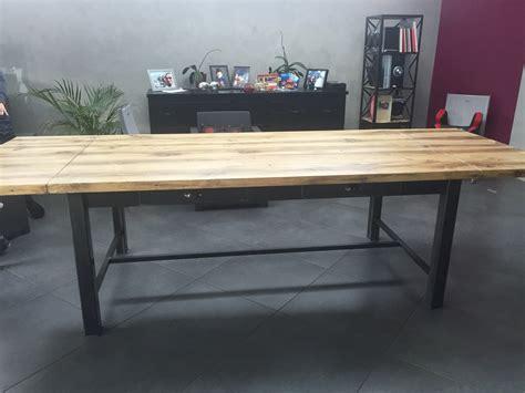 table a manger avec rallonge amazing table style industriel avec inspirations et grande table de salle 224 manger avec