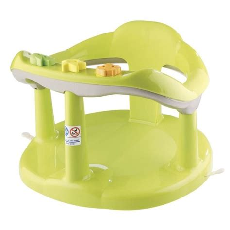 thermobaby anneau de bain aquababy vert vert achat vente assise bain bébé 3023190953212