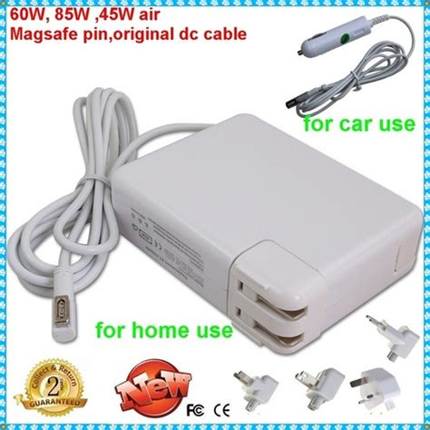 Magsafe 85w Laptop Car Charger For Apple Macbook Pro In