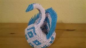 Origami Für Anfänger : 3d origami diamant schwan deutsch youtube ~ A.2002-acura-tl-radio.info Haus und Dekorationen