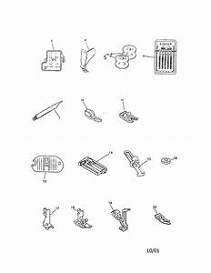 Singer 9134 Mechanical Sewing Machine Parts