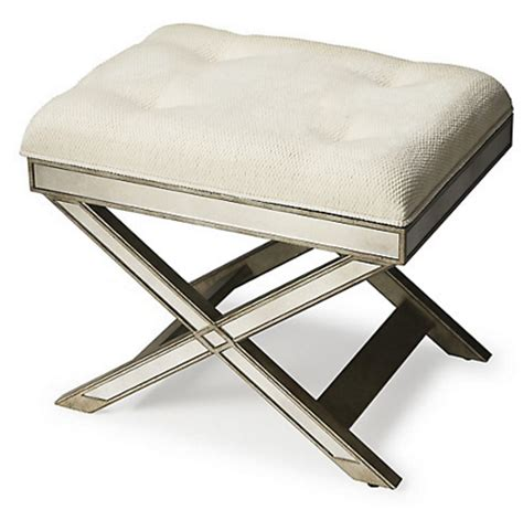 x bench ottoman 10 beautiful x base ottomans for a glamorous home