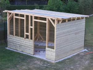 Abri De Jardin En Bois Brico Depot : construction de mon abri de jardin l 39 atelier de zep ~ Dailycaller-alerts.com Idées de Décoration