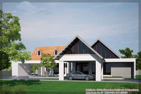 Home Design Kerala Style Single Floor : Single Floor House Designs