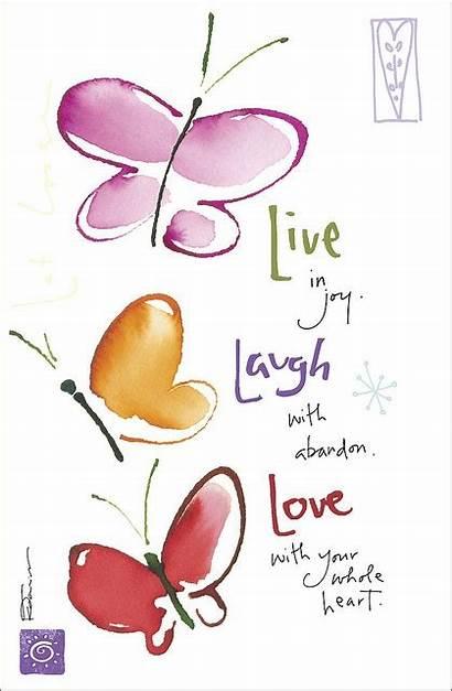 Laugh Quotes Quote Inspirational Joy Heart Abandon