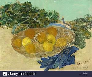 Leinwand Auf Englisch : stillleben von orangen und zitronen mit blauen handschuhen von vincent van gogh 1889 ~ Eleganceandgraceweddings.com Haus und Dekorationen
