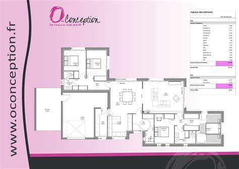 maison moderne plain pied 4 chambres impressionnant plan maison 4 chambres plain pied ravizh com